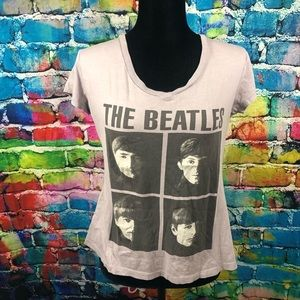 The Beatles V-neck tee size Large